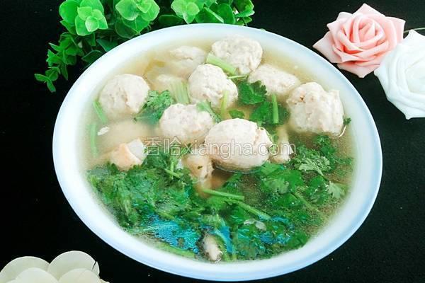 手工鱼丸汤