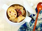 莲藕红豆骨头汤的做法[图]