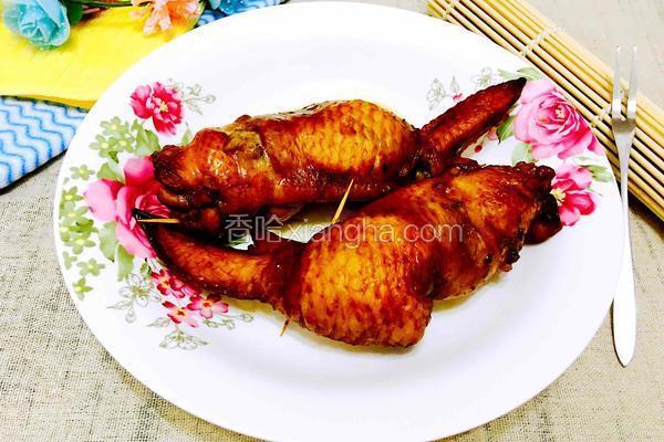 鸡全翅包饭
