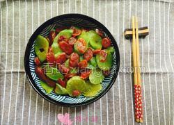莴苣炒香肠