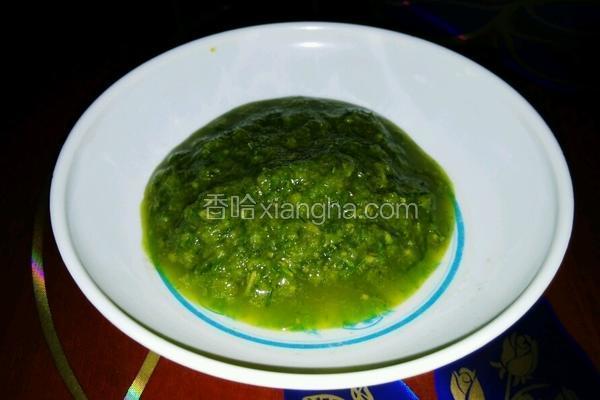 自酿韭菜花酱