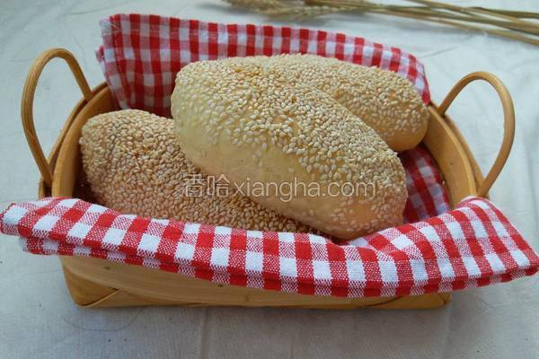 芝香肉松香肠面包