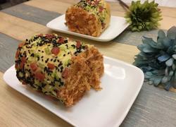 肉松面包卷(千岛酱)
