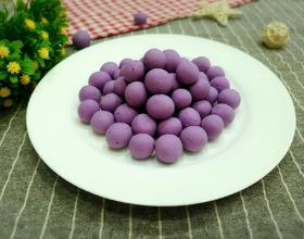 自制紫薯小汤圆[图]