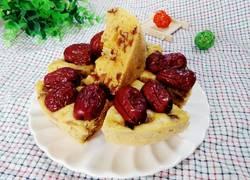 玉米面红枣发糕