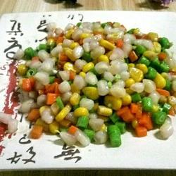 吉祥三宝(石榴 玉米 红萝卜)