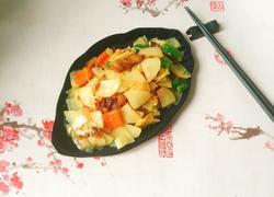 土豆片烧肉