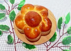 黄油花朵面包