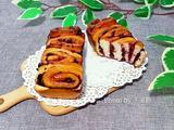 蓝莓酱面包卷的做法[图]
