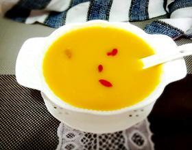 玉米南瓜浓汤
