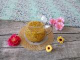 鸡蛋果蜂蜜柚子茶的做法[图]