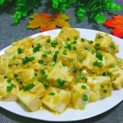 蟹黄烧豆腐(家常版)