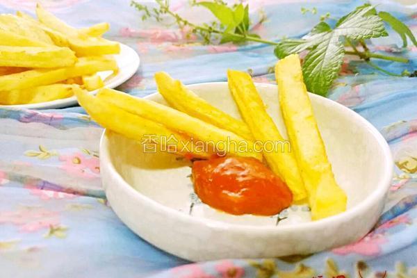 薯条番茄酱