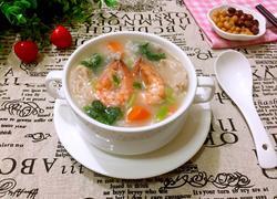 鲜虾瘦肉粥