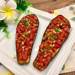 番茄烤茄子