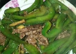 牛肉炒青椒