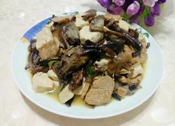 榛蘑炖豆腐