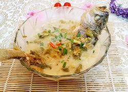 咸菜黄鱼汤