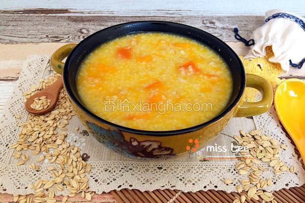 南瓜燕麦小米粥