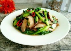 小青菜炒香菇