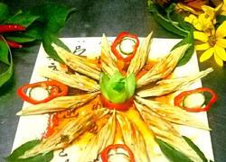 花开富贵(红油腐竹)