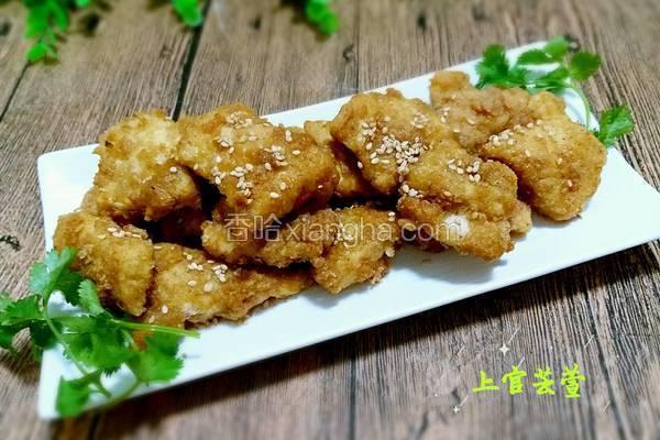 休闲小吃★香酥炸鸡块