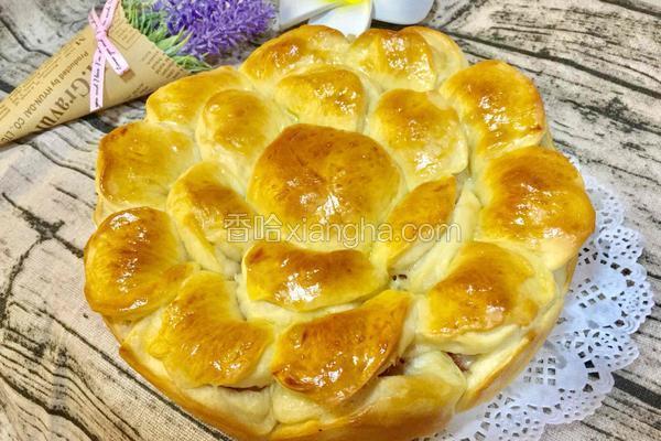 培根芝士花朵面包