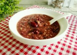 红枣燕麦黑米粥