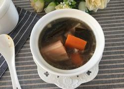 莲藕海带排骨汤