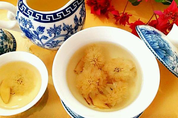 甘草菊花茶