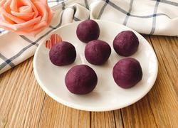 蜂蜜奶香紫薯馅(无油版)