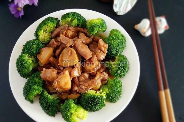 鲍鱼炒梅肉