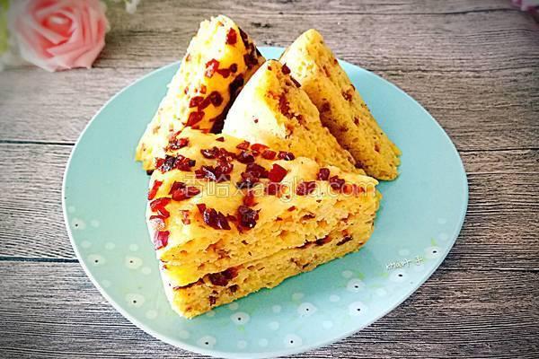 红枣玉米面发糕
