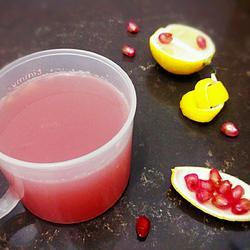 柠檬石榴汁
