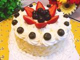 奶油水果蛋糕的做法[图]