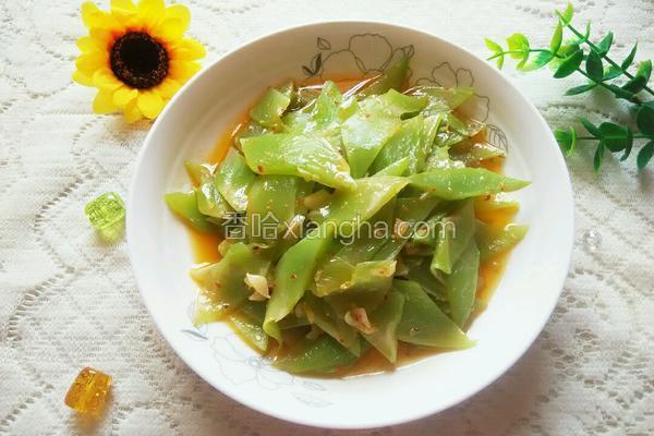 素炒莴笋片