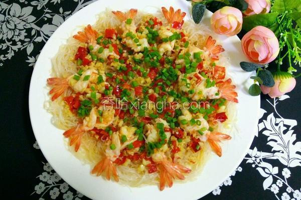 蒜蓉剁椒蒸虾