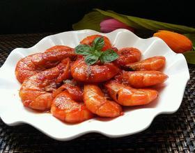 西红柿烧河虾[图]