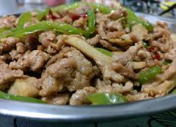 豆干青椒炒肉丝