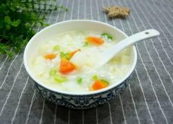 胡萝卜土豆大米粥