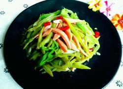 芸豆炒火腿肠