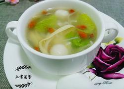 自制什锦三鲜鸭汤