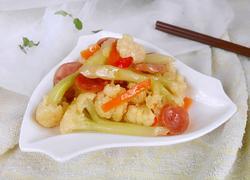 花菜炒香肠