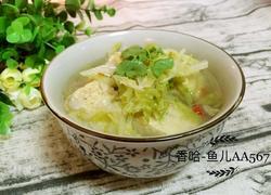 白菜土豆冻豆腐汤