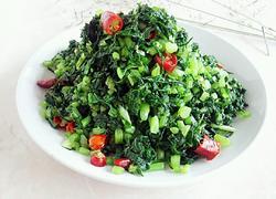 腌萝卜叶咸菜