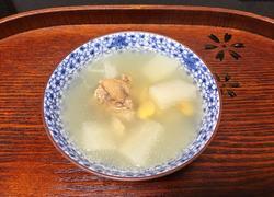 鲫鱼白萝卜扁豆汤