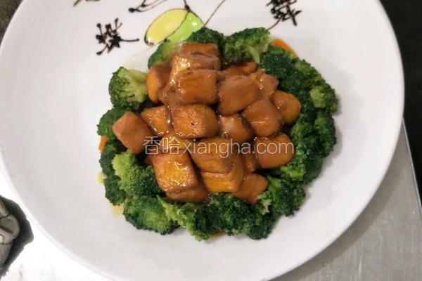 西兰鸡蛋豆腐