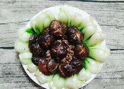 肉丁焖香菇
