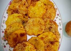 金黄芝麻南瓜饼