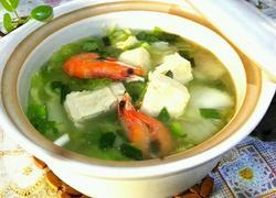 砂锅冻豆腐炖白菜